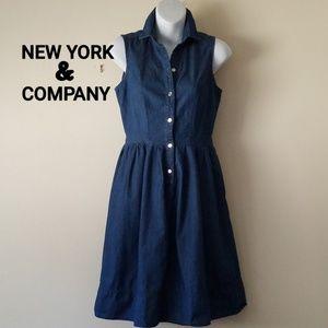 NEW YORK & COMPANY Denim Dress